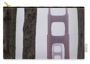Golden Gate Through The Trees Carry-all Pouch