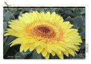 Golden Gerbera Daisy Carry-all Pouch