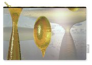 Golden Globs Carry-all Pouch