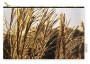 Golden Grass Flowers Carry-all Pouch