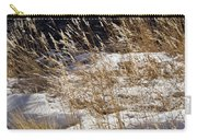 Golden Grasses In Sun And Snow Carry-all Pouch