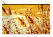 Golden Grasses Carry-all Pouch