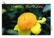 Golden Guinea Happy Birthday Carry-all Pouch