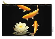 Golden Harmony Vertical Carry-all Pouch