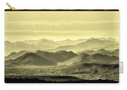 Golden Hills Of The Tonto Carry-all Pouch