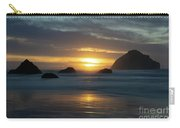 Golden Hour At Face Rock Carry-all Pouch