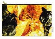 Golden Kimono Carry-all Pouch