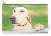 Golden Lab Wally Carry-all Pouch