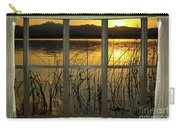 Golden Lake Bay Picture Window View Carry-all Pouch