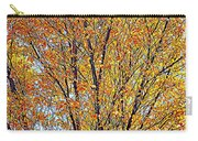 Golden Leaves - Oil Paint Carry-all Pouch