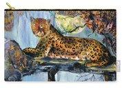 Golden Leopard Carry-all Pouch