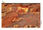 Golden Light On Valley Of Fire Arch Carry-all Pouch