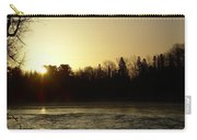 Golden Mississippi River Sunrise Carry-all Pouch