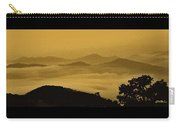 Golden Morning Above The Clouds Carry-all Pouch