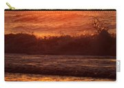 Golden Ocean City Sunrise Carry-all Pouch