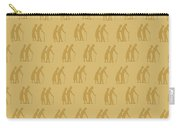 Golden Oldies Wallpaper Carry-all Pouch