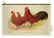 Golden Penciled Hamburgs Carry-all Pouch