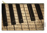 Golden Pianoforte Classic Carry-all Pouch