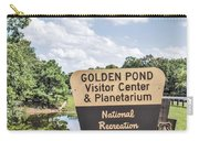 Golden Pond Visitor Center And Planetarium Carry-all Pouch