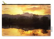 Golden Ponds Longmont Colorado Carry-all Pouch by James BO  Insogna
