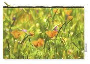 Golden Poppies In A Gentle Breeze  Carry-all Pouch