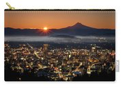 Golden Portland Morning Carry-all Pouch