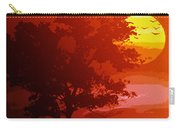 Golden Rays Of The Sun  Carry-all Pouch