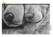 Golden Retriever Dog And Friend Carry-all Pouch