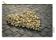 Golden Rocky Love Carry-all Pouch by Mary Lee Dereske