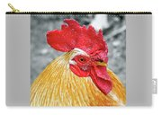 Golden Rooster Portrait Carry-all Pouch