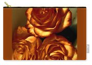 Golden Roses 3 Carry-all Pouch