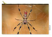 Golden Silk Spider 3 Carry-all Pouch