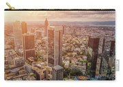 Golden Skyscrapers Of Frankfurt Carry-all Pouch