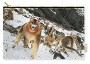 Golden Snub-nosed Monkey Carry-all Pouch