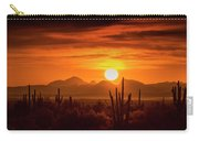 Golden Southwest Sunset  Carry-all Pouch