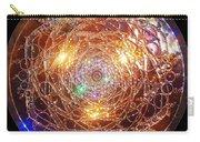 Golden Spiral Copper Lightmandala Carry-all Pouch by Robert Thalmeier