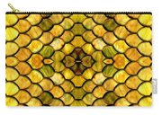 Golden Stained Glass Carry-all Pouch