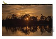 Golden Sunburst At The Lake New Jersey  Carry-all Pouch