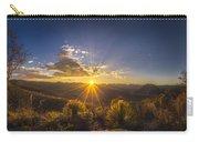 Golden Sunlight Desert Scene Carry-all Pouch