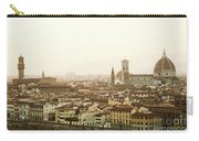 Golden Sunset Of Florence, Italy. Carry-all Pouch