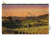 Golden Sunset Over Hood River Pear Orchard Carry-all Pouch