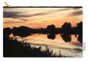 Golden Sunset Reflection Carry-all Pouch
