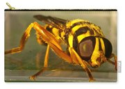 Golden Syrphid Carry-all Pouch