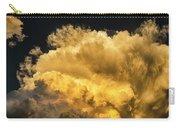 Golden Thunderhead Carry-all Pouch