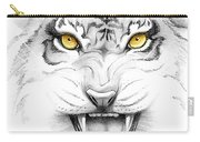 Golden Tiger Eyes Carry-all Pouch