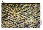 Golden Water On Mountain Lake Carry-all Pouch