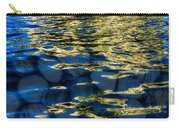 Golden Water With Rocks Carry-all Pouch