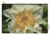 Golden Wings Peony Carry-all Pouch