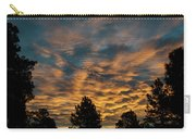 Golden Winter Morning Carry-all Pouch by Jason Coward