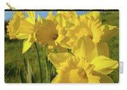 Golden Yellow Daffodil Flower Garden Art Prints Baslee Troutman Carry-all Pouch